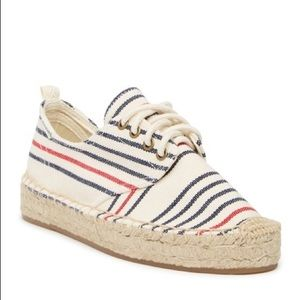 SOLUDOS Oxford Lace-Up Platform Espadrille